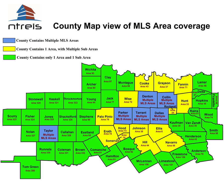 NTREIS Coverage Area