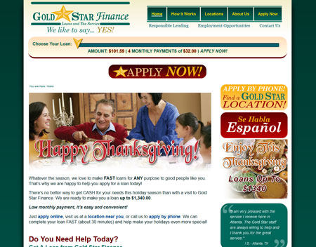 Gold Star Finance