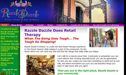 iComEx Launches Razzle Dazzle Website