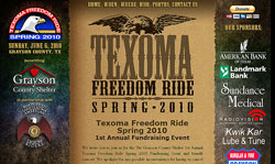 Grayson County Shelter Freedom Ride Event